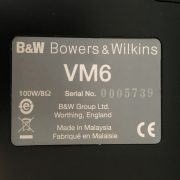 Bowers & Wilkins VM6 PRE-OWNED 3