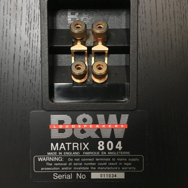 Bowers & Wilkins Matrix 804 PRE-OWNED 4