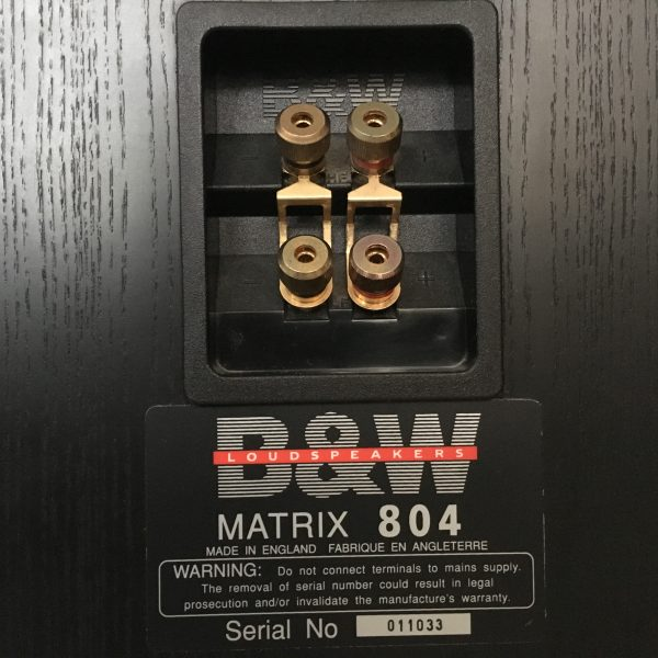 Bowers & Wilkins Matrix 804 PRE-OWNED 5