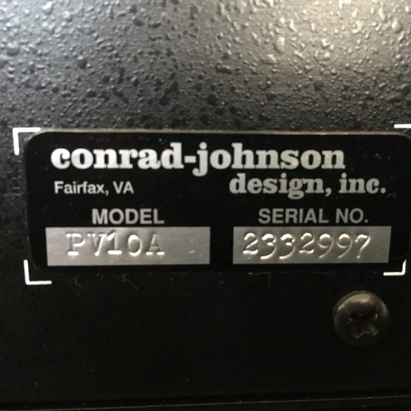 Conrad Johnson PV10A PRE-OWNED 3