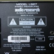 Audio Research LS27 PRE-OWNED 3