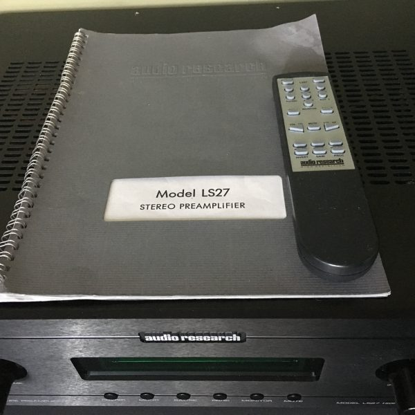 Audio Research LS27 PRE-OWNED 4