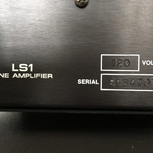 Audio Research LS1 PRE-OWNED 4