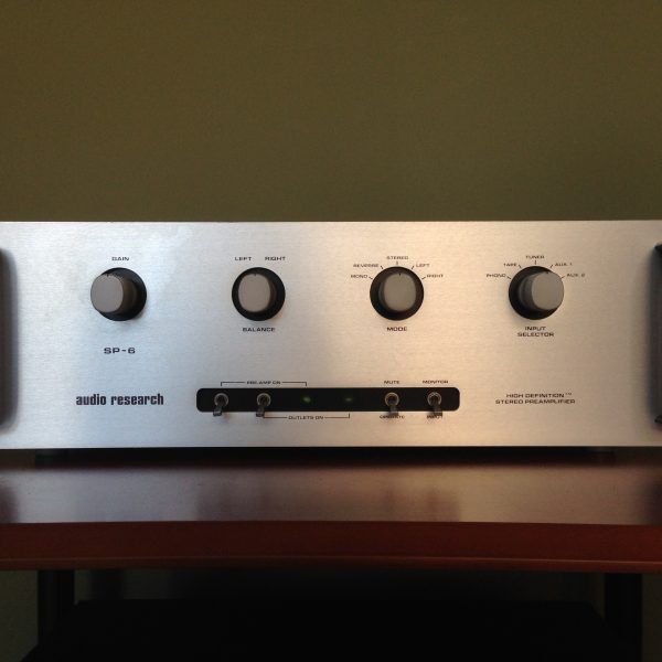 Audio Research SP-6c Preamplifier PRE-OWNED SOLD 1