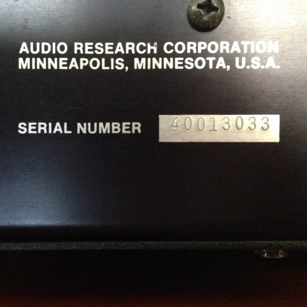 Audio Research SP-6c Preamplifier PRE-OWNED SOLD 4